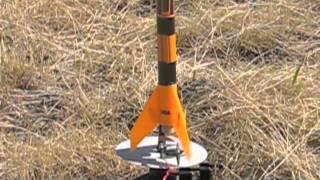 First Estes Rocket Launch