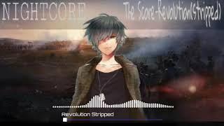 Nightcore The Score Revolution Stripped