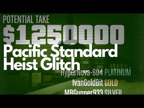 GTA V Pacific Standard Heist Glitch
