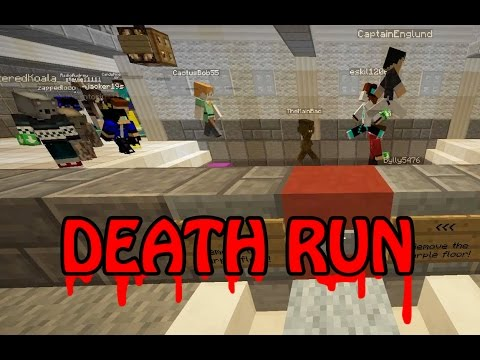 Minecraft Death Run Mini Game Play With Radiojh Audrey Games