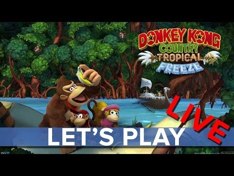 Donkey Kong Country: Tropical Freeze - Eurogamer Let's Play LIVE