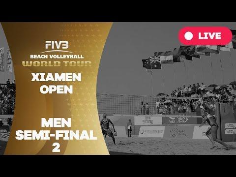 Xiamen Open - Men Semi Final 2 - Beach Volleyball World Tour