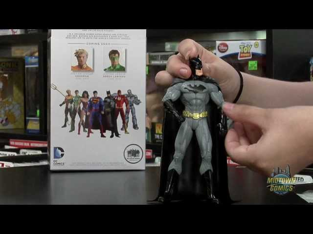 Justice League The New 52 Batman Action Figure Unboxing