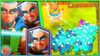 MAGIC ARCHER TROLL DECK IS SUPER STERK!!! - Clash Royale