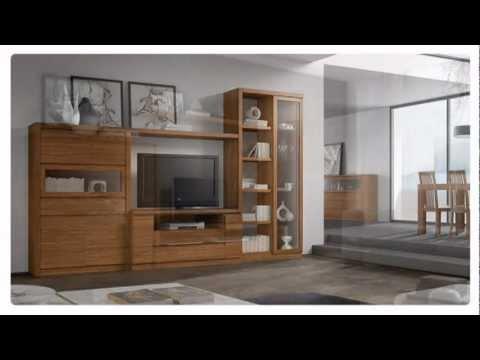 Muebles modernos para salones modernos y comedores for Salas de madera modernas