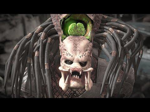 Mortal Kombat X - All Fatalities on Predator
