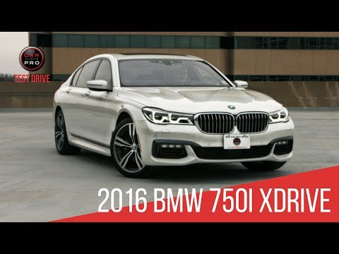 2016 BMW 750i xDrive Test Drive