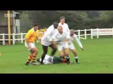 5 live re-enact Jonny Wilkinson's 2003 winning drop goal