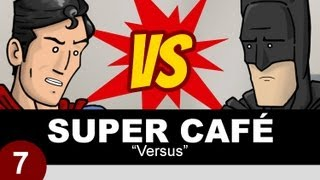 Superman y Batman discutiendo quien ganaría en Man of Steel 2 (HISHE)