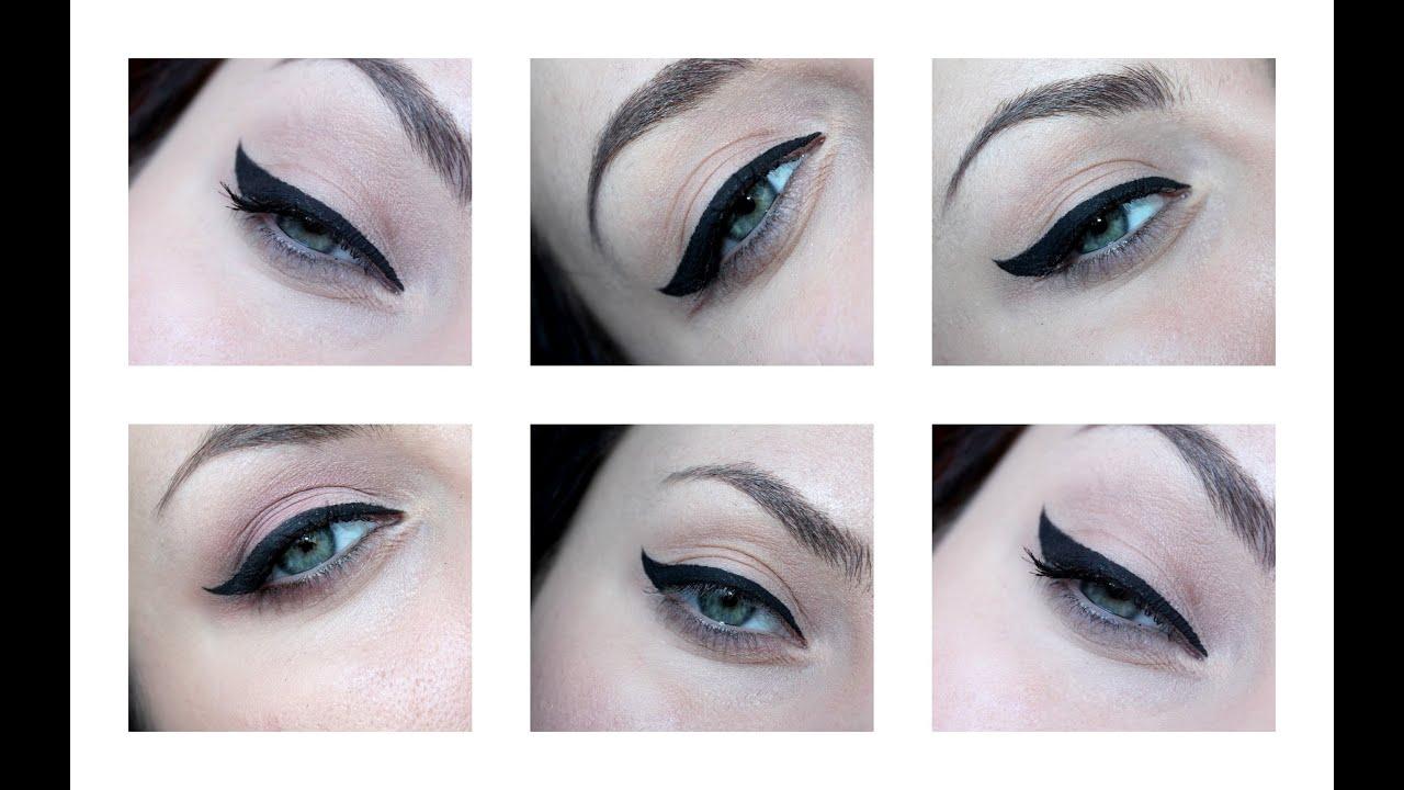 Кошачий макияж глаз проще не бывает