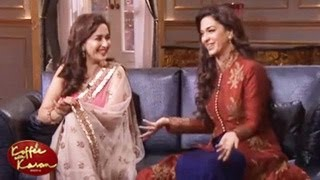 Madhuri Dixit & Juhi Chawla REVEALS star SECRETS Koffee with Karan 4 23rd February 2014 FULL EPISODE