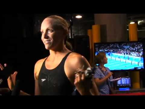Morning Swim Show: Dana Vollmer from 2012 USA Olympic Trials