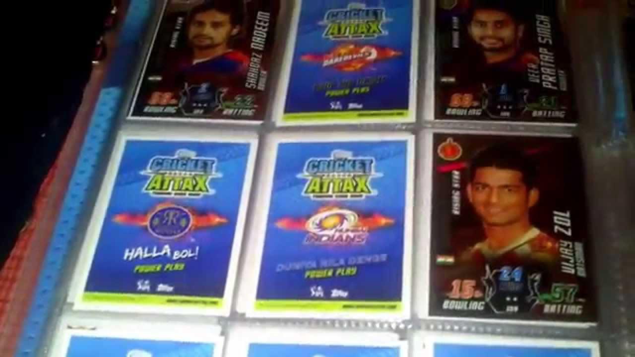 Cricket Attax Cards 2014 Cricket Attax Binder 2014-15