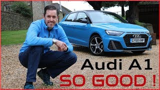 2019 Audi A1 - THE NEW BEST IN CLASS ? [FIRST DRIVE]