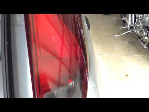 2000-2007 Ford Focus Tail Light Removal (ZX3. ZX5)
