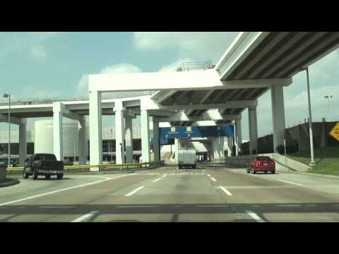 Houston, TX  Intercontinental Airport Tour 'Terminals A&B'