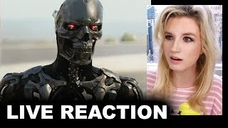 Terminator Dark Fate Trailer REACTION