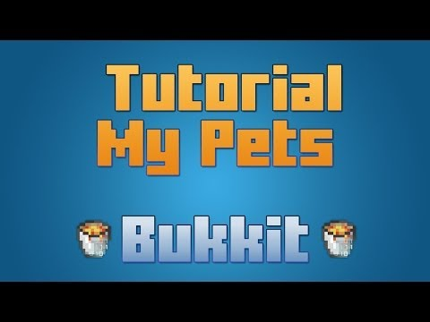 Minecraft - Plugin My Pet [ Tutorial en Español ] Mascotas con habilidades