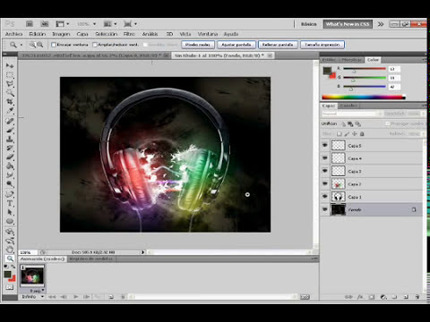Tutorial de photoshop profesional: Efectos
