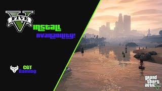 First GTA 5 Video Ever! 'Preload install 59GB!'