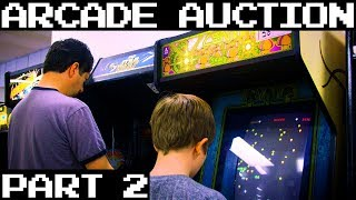 October 2018 HUGE Arcade Auction! - Part 2