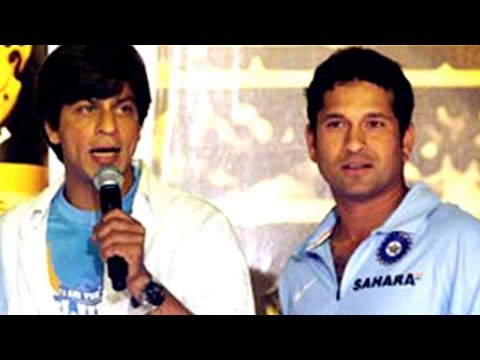 Shah Rukh Khan Recollects His Memories Of Working With Sachin Tendulkar