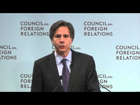 Deputy Secretary Blinken Discusses Trip to the Middle East and North Africa