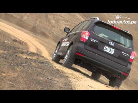 Experiencia con Subaru All New Forester 2013 en La Chutana