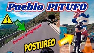 Pueblo de los pitufos, curvas peligrosas, conismo extremo y postureo - Hoy toca ruta!!
