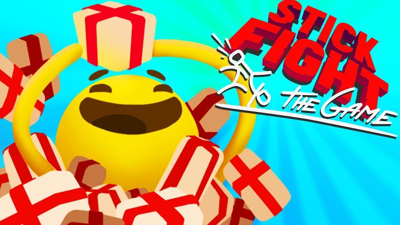 ЛОВИ ПОДАРОЧЕК! ► Stick Fight The Game |11| Битва стикменов