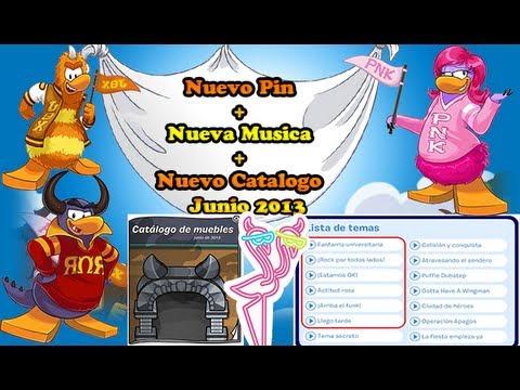 Nuevo Pin + Nuevo Catalo + Nuevas canciones! (junio 2013)
