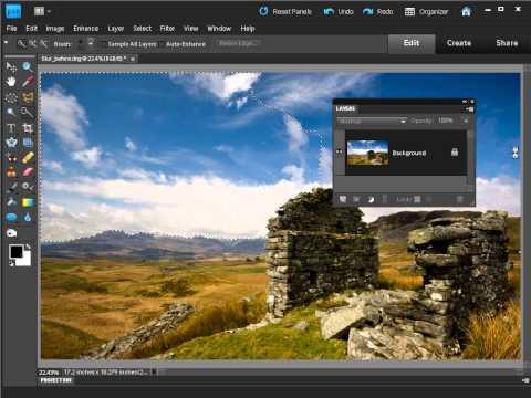 Rozmyte chmury - dynamiczne niebo w Photoshopie [tutorial]