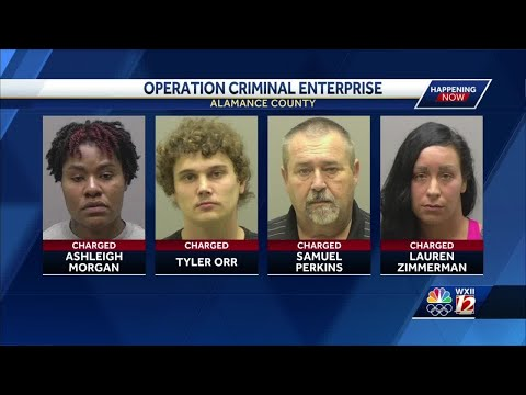 Several arrests made in scheme to get drugs to inmates in Alamance County, sheriff says