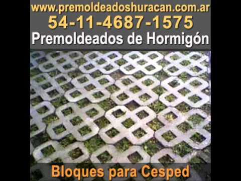 Premoldeados de hormigon huracan piezas premoldeadas de cemento youtube - Baldosas de hormigon para jardin ...