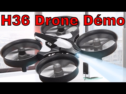 H36 Mini Drone Radio Controlé Review et Démonstration du JJRC En Vol 2.4G par ThinkUnboxing in 4k