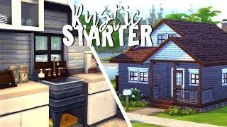 Rustic Starter || The Sims 4 Budget Neighborhood: Speed Build