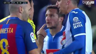 Barcelona vs Espanyol 4-1 - La Liga full match 18/12/2016 HD