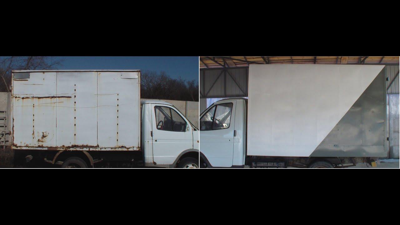 Как сделать грузовой фургон своими руками 75