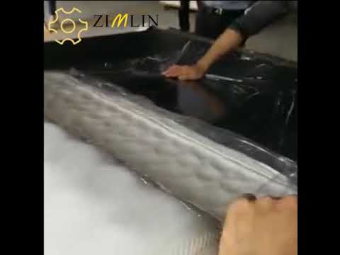 JK R1 Semi auto mattress rolling machine MP3