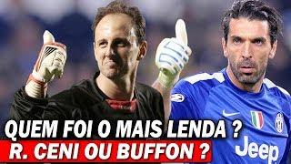 Rogério Ceni Vs Buffon  - QUEM FOI A MAIOR LENDA ?