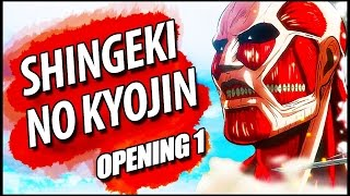 "Download Lagu SHINGEKI NO KYOJIN opening 1 FULL em PORTUGUÊS: ""Guren No Yumiya"" Gratis STAFABAND"