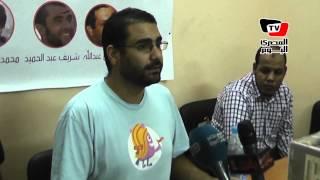 علاء عبد الفتاح : الداخلية لفقت التهم للطالب عبد الرحمن كمال