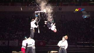 2014 WTF World Junior Championships Opening Ceremony