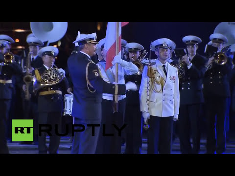 Moscú acoge el festival internacional de Bandas Militares