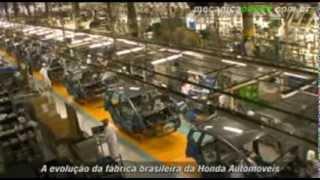 A evolução da fábrica brasileira da Honda Automóveis