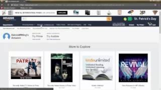 How to Create amazon account?63%**#### video