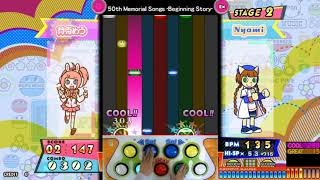 [pop'n music peace] 50th Memorial Songs -Beginning Story- EX PERFECT