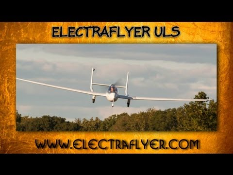 ElectraFlyer ULS, ElectraFlyer s Electraflyer ULS electric battery powered ultralight aircraft.