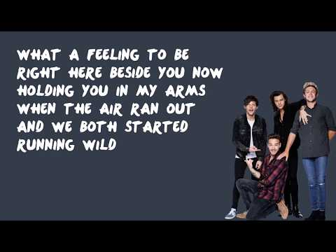 What a Feeling - One Direction (Lyrics)