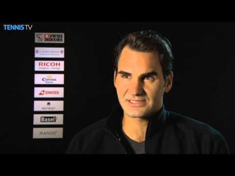 Basel 2014 Wednesday Interview Federer